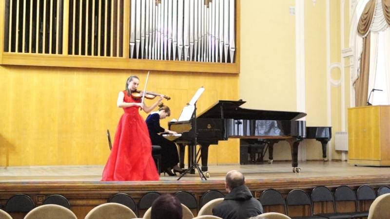 Ф. Пуленк - Соната для скрипки и фортепиано d-moll, I часть