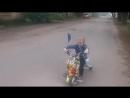 Электрический скутер для дрифта GiroDrift 2.0 (с подсветкой, амортизаторами и музыкой)