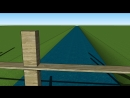 МоРст 2 я примитивная анимация проекта моста через реку Векса