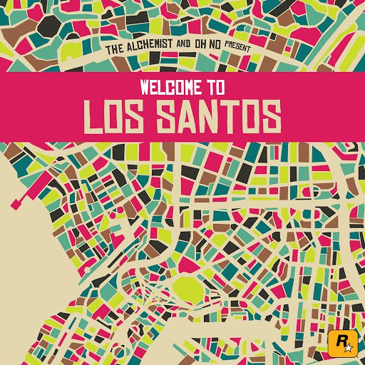 The Alchemist альбом The Alchemist & Oh No Present Welcome to Los Santos