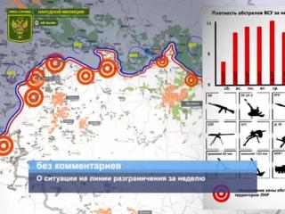 ГТРК ЛНР. О ситуации на линии разграничения за неделю. 28 Июля 2017