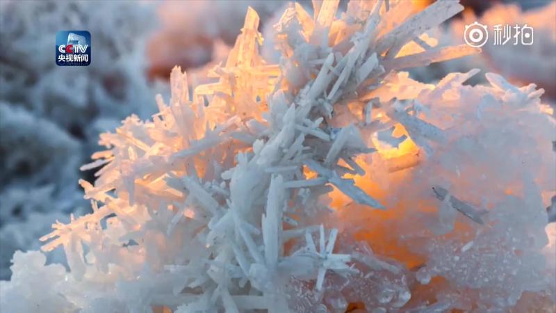 Кристаллы соли из китайского мертвого моря - Юньчэн