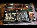 Panasonic RX CW200L Часть 4 Ремонт и подстройка скорости протяжки