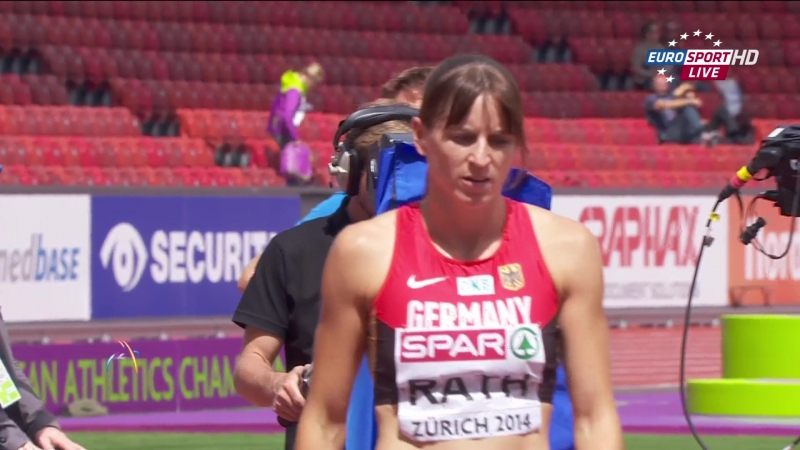 Claudia Salman-Rath. Heptathlon. High Jump. 22nd European Athletics Championships. Zurich (2014)