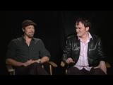 Брэд Питт и Квентин Тарантино про МАКСИМАЛЬНО / Interview -Inglourious Basterds