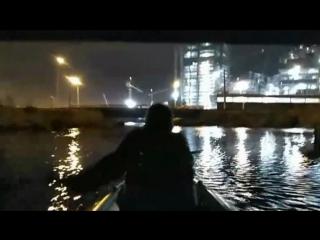Плывем на байдарке мимо Лахта-центра