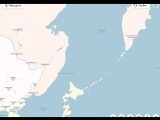 Яндекс Карты спрятали Сахалин от корейской ракеты ;)