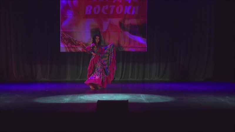 Всероссийская Олимпиада Сердце Востока Цыганский сценический 1-е место