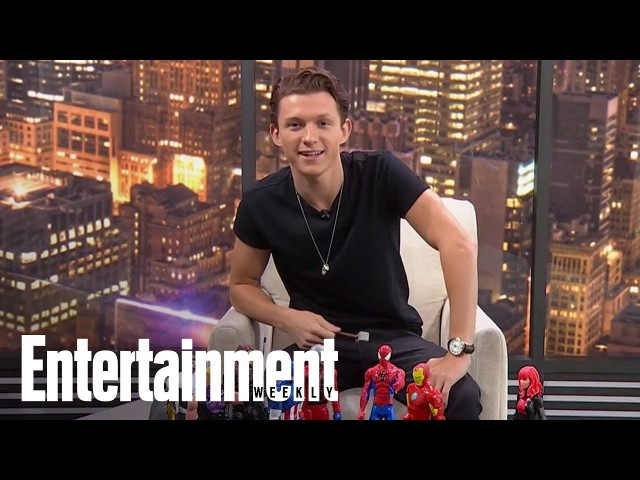 Tom Holland Reacts To Chris Hemsworth's Viral 'Avengers' Video | Cover Shoot | Entertainment Weekly