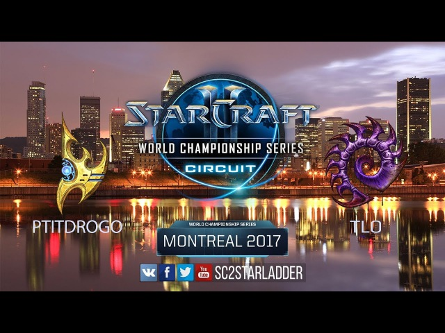 2017 WCS Montreal: PtitDrogo (P) vs TLO (Z)