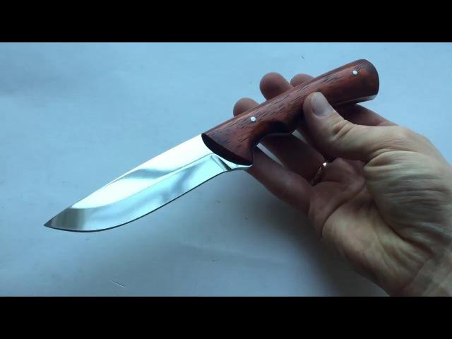Цельнометаллический нож Глухарь All-metal knife Grouse