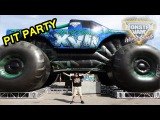 2016 Monster Jam World Finals XVII Awesome Pit Party
