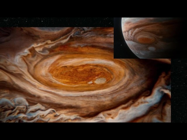 Huge hurricane on Jupiter