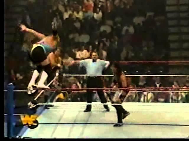 1-2-3 Kid Bob Holly vs Well Dunn SuperStars Jan 7th, 1995