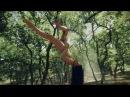 Pole dance в лесу - красивый танец на пилоне