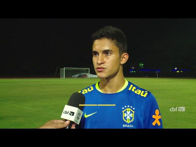 Seleção Brasileira Sub-17 Halter e Nestor mostram conhecimento sobre a Coreia do Norte