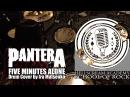Pantera - Five Minutes Alone  УРОКИ БАРАБАНОВ   ИГРА НА КАРДАНЕ   БЛАСТБИТ   ПОСТАНОВКА РУК