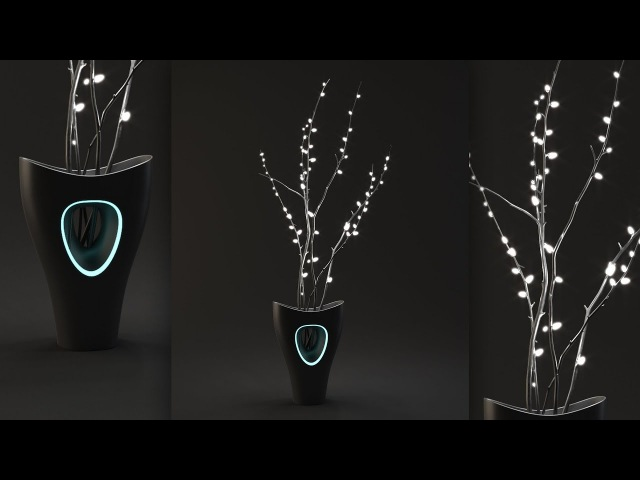 Tutorial No.76 : VRAYforC4D 3.4 Free Lighting Course | Mesh Light, Bloom Glare | (Part 3 of 8 )