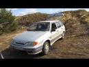 внедорожный тест-драйв ваз 2114 . off-road test-drive lada 2114