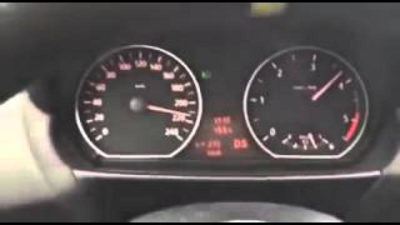 Максимальная скорость BMW 120d E87