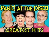 ELDERS READ PANIC! AT THE DISCOS HIT SONGS (React)