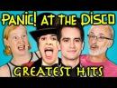 ELDERS READ PANIC! AT THE DISCO'S HIT SONGS (React)