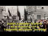 Talco - Tarantella Dell'Ultimo Bandito subtitulado espa