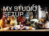 My Studio Setup - How to create an amazing art space (on a budget)