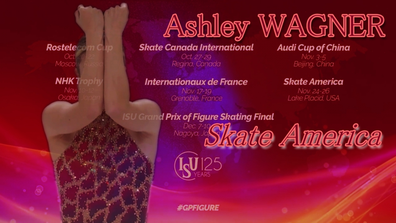 Ashley WAGNER Skate America 2017. Ladies - SP
