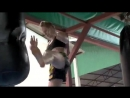 Kathrine - Muay Thai Training (Song - Eye of the Tiger )