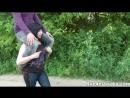ponygirl shoulder-ride