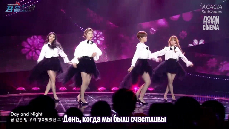 Red Queen - ACACIA (The Idolm@ster.Kr OST) [РУС. СУБ.] ASIAN CINEMA