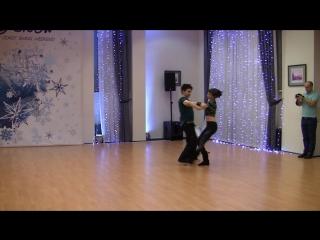 SwingSnow 2018. Rising Star routines. Artem Shapovalov - Yuliya Lemayeva
