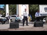Эстрадный состав оркестра главного управления национальной полиции в Херсонской области, еще один фрагмент выступления