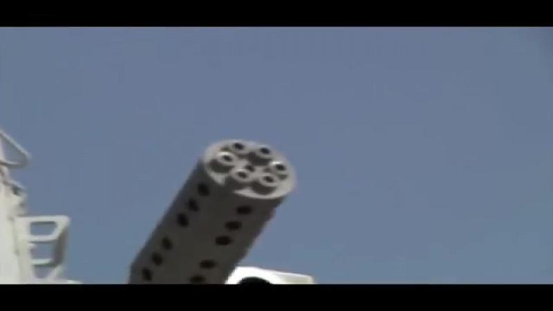 C-RAM в действии стрельбе - Counter Rocket, артиллерия и миномет