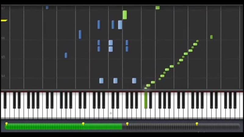 Piano Synthesia - Frédéric Chopin - Waltz Op. 64 No. 2 in C Sharp Minor
