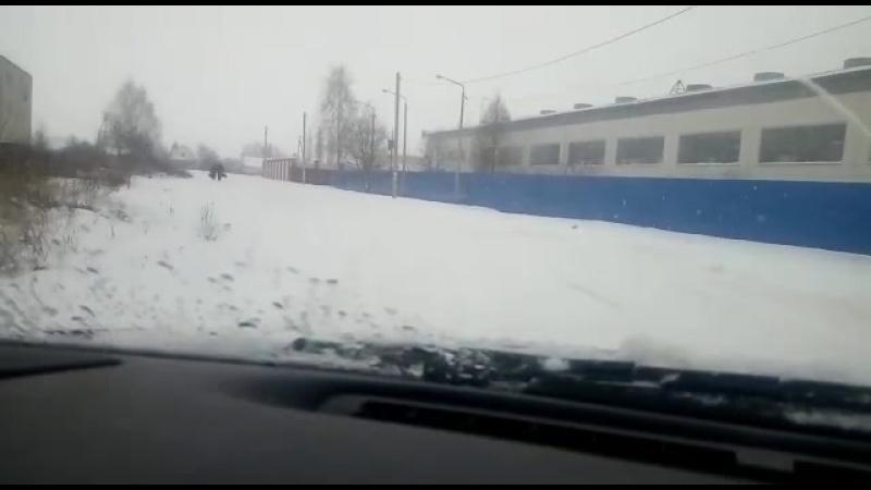 Долгожданный снег