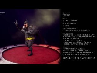 BatMetal 3D - MakingOf (speed sculpting)