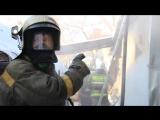 Пожар по адресу:  Жамбула 28