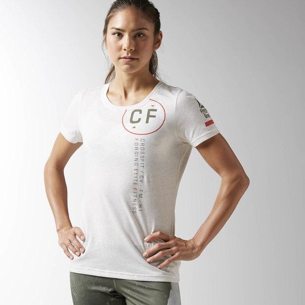 Футболка Reebok CrossFit Perforated Graphic