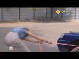 Как завести авто буксировочным тросом, без буксировки