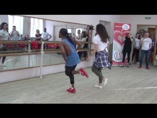 Salsa - Daniel Torriente и Мария La Cubana. МК в LaVida 11.02.2018