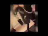 Видео нападения на Собчак