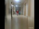 Вот так мы сегодня убегали из больницы,когда врач сказала,что выписывает 🙌😂👋