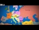 Карта Европы 1100 - 2012 год