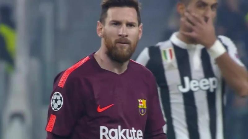 Lionel Messi vs Juventus (UCL) (Away) 2017-18 HD 1080i
