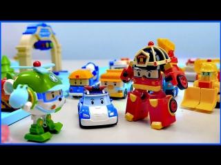 Мультфильмы про машинки Поли Робокар все серии подряд на русском Robocar Poli
