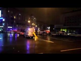 Взрыв в здании Гигант Холл