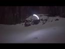Speed Riding at night in Chamonix - Moonline