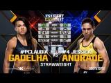 Fight Night Japan Claudia Gadelha vs Jessica Andrade